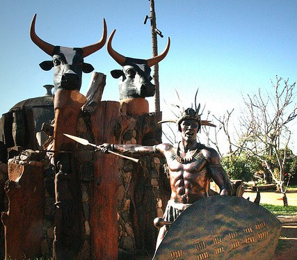 MKHOSANA KAMVUNDLANA BIYELA -THE GREAT ZULU WARRIOR WHO SACRIFICED HIS OWN LIFE AT ISANDLWANA